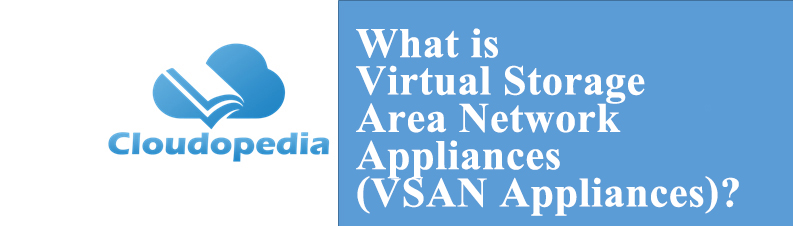 Definition of Virtual Storage Area Network Appliances (VSAN Appliances)