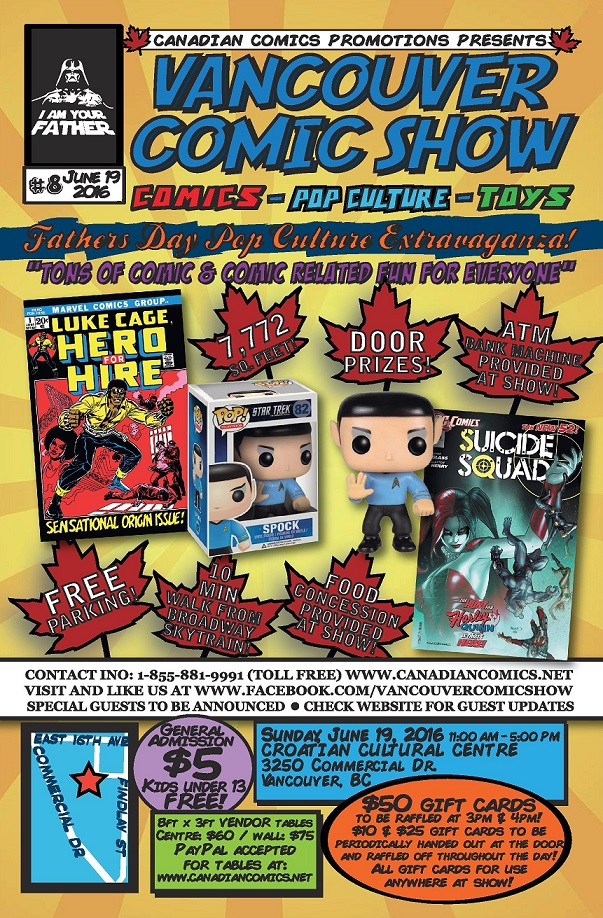 vancouver comic show