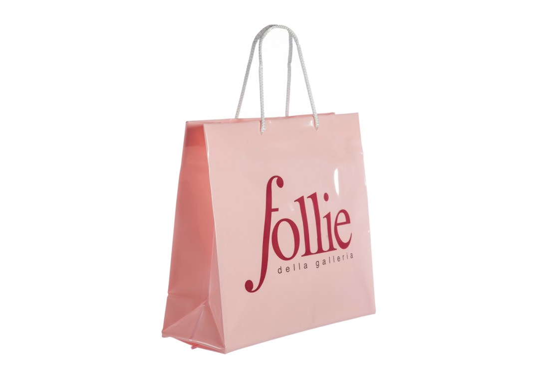 shopping bag in plastica