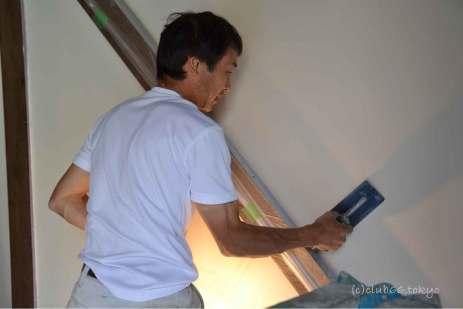漆喰 手仕事 リノベーション アンティーク