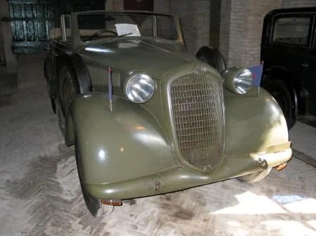 1939 Alfa Romeo 6C 2500 Coloniale Torpedo Militare-fVr=mx=