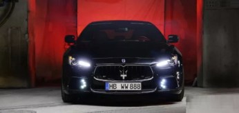 Maserati Ghibli Black Bison Giappone 3