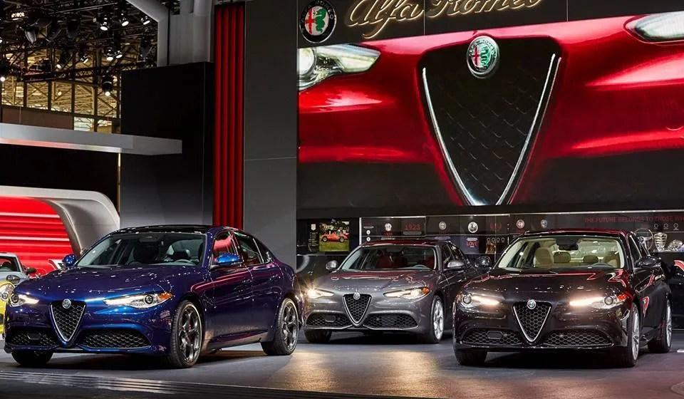 Alfa Romeo Giulia da 280 CV negli USA