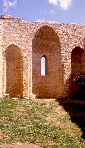 Castellaccio: Absidi della Chiesa