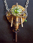 Verdant Excess Pendant by liquidsolution @ etsy