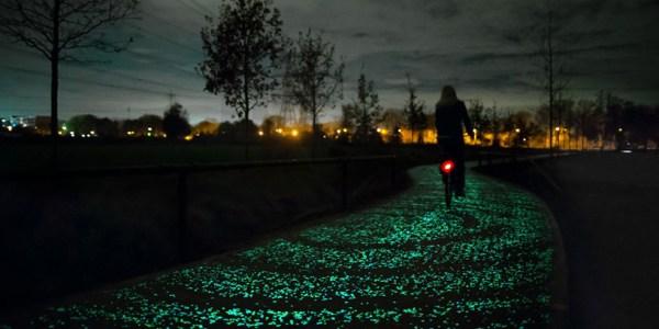daan roosegaarde_van gogh-roosegaarde cycle path