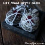 DIY Wool Dryer Balls + the Easy Way