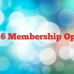 2016 Membership Open