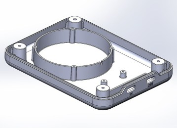 CAD Data for Prototype speaker housing
