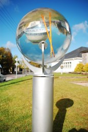 Spherical Encapsulations for a public art commission