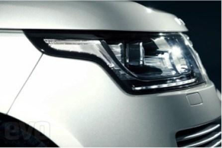 Range Rover Headlight Cover - Vacuum Cast