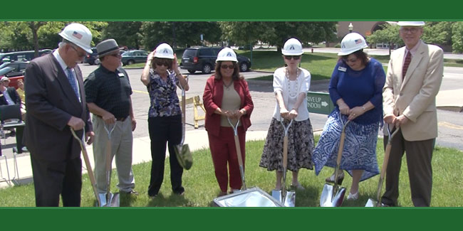 CMNtv News Rochester Hills Library Groundbreaking