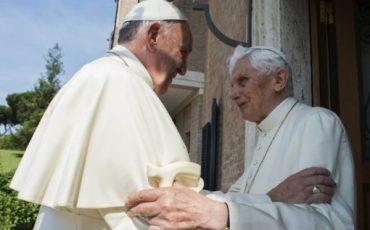 SS Papa FrancescoVisita Papa Benedetto 30-06-2015   @Servizio Fotografico - L'Osservatore Romano