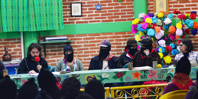 Alejo Stark at the encounter The Zapatistas and ConSciences for Humanity