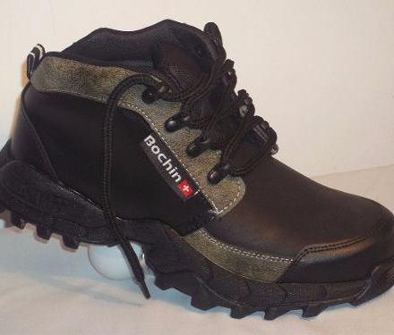 Zapatillas botitas de trabajo comb cuero bochin ropa - Zapatillas de trabajo ...