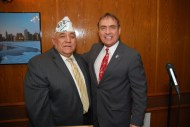 Al Zaragosa (CVO Co-Chair) and Jim Balcer, 11th ward Alderman