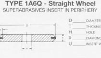 1A6Q Straight Wheel