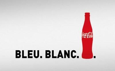 « Bleu. Blanc. Coca-Cola. », la nouvelle campagne de Coca-Cola Entreprise
