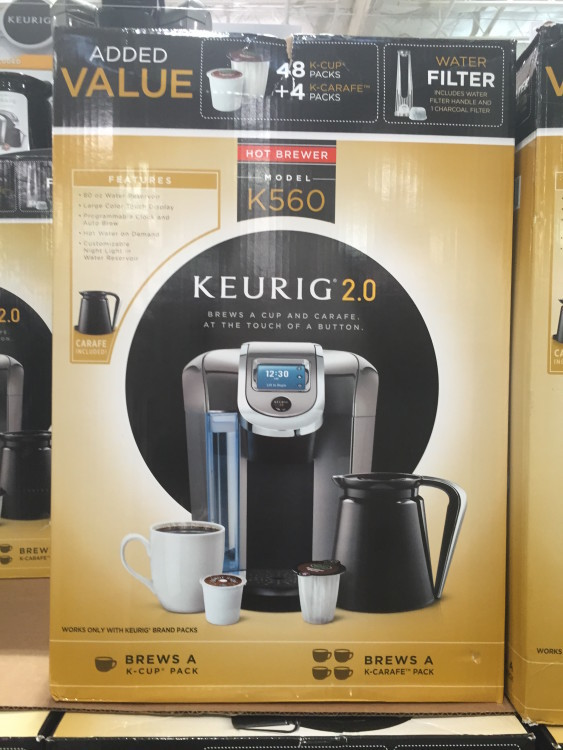 keurig single serve brewer with 48 kcup u0026 4 kcarafe packs at