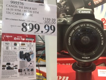 Costco Item #995576 Price: $899.99 after $300 Mfr's Instant Rebate Valid thru 01/31/2016