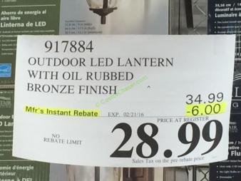 costco-917884-outdoor-led-lantern-with-oil-rubbed-bronze-finish-tag
