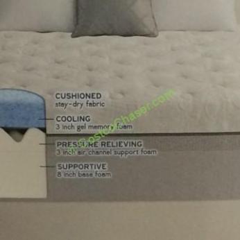 novaform 14 comfort grande queen gel memory foam mattress. costco-956398-novaform-comfort-grande-queen-mattressgel-memory- novaform 14 comfort grande queen gel memory foam mattress