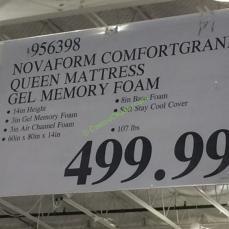 novaform 14 comfort grande gel memory foam full mattress. costco-956398-novaform-comfort-grande-queen-mattressgel-memory-. costco novaform comfort grande queen 14\u201d mattress gel memory foam 14 full 1