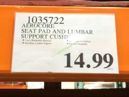 costco-1035722-aerocore-seat-pad-and-lumbar-support-cushion-tag