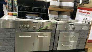 Kitchenaid Bbq Cover kitchenaid 9-burner island grill cover included, model# 960-0003b