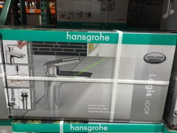 hansgrohe logis loop single hole bathroom faucet – costcochaser