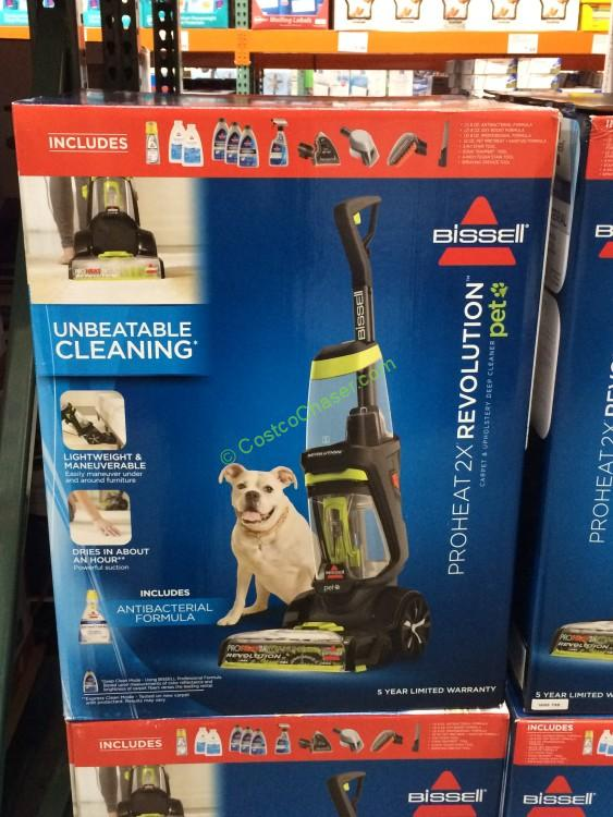 bissell proheat 2x revolution pet carpet cleaner model1548p