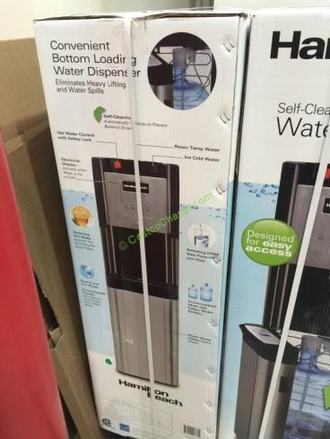 how to clean hamilton beach water cooler