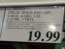 Costco-707373-Ziploc-Space-Bag-14PC-tag