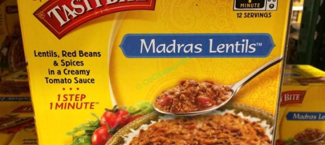 Tasty Bite Madras Lentils 6/10 Ounce Pouches