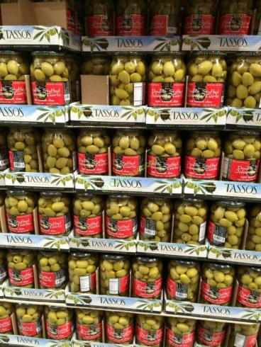 Tasso S Garlic Jalapeno Olives 35 27 Ounce Jar Costcochaser