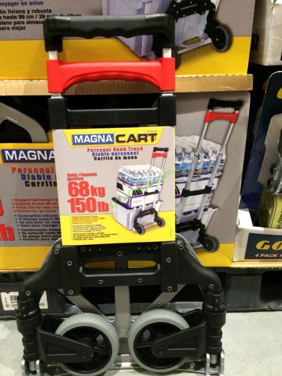 magna cart foldable hand truck mcx63750