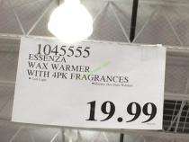 Costco-1045555-ESSENZA-Wax-Warmer-tag