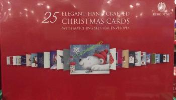 Hallmark christmas cards 40 count costcochaser burgoyne handmade christmas cards set 25 count m4hsunfo Choice Image