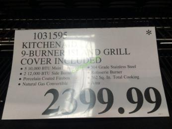 Kitchen Aid Model    Burner Island Grill Cover