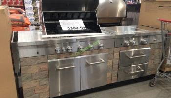 Kitchenaid Bbq Cover kitchenaid 7-burner island grill cover included – costcochaser