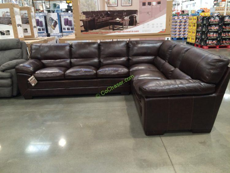 Simon Li Leather Sectional & Simon Li Leather Loveseat u2013 CostcoChaser islam-shia.org