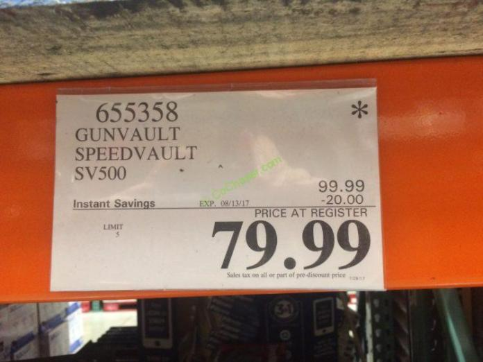 Costco-655358-Gunvault-Speedvault-SV500-tag