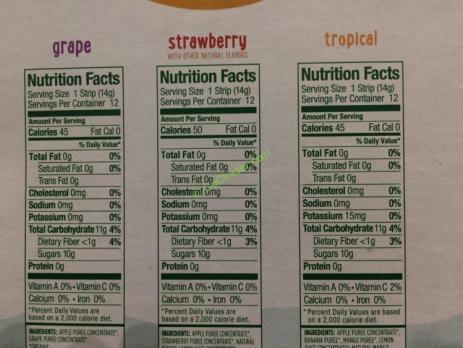 Costco-1195755-Stretch-Island-Organic-Fruit-Strips-chart