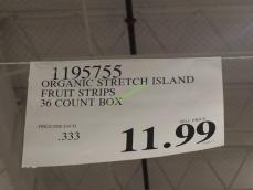 Costco-1195755-Stretch-Island-Organic-Fruit-Strips-tag