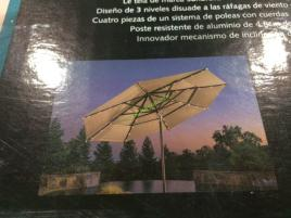 Costco-1500165-ProShade-11'-LED-Solar- Aluminum-Market-Umbrella-face
