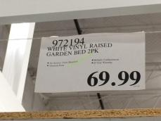 Costco-972194-White-Vinyl-Raised-Garden-Bed-tag