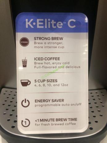 Costco-2881975-Keurig-K-Elite-C-Single-Serve-Coffee-Maker-spec