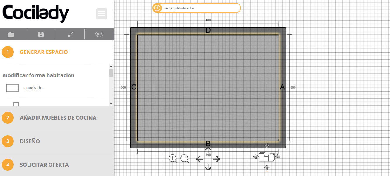 Moderno Cocina De Diseño Planificador De Aplicación Composición ...