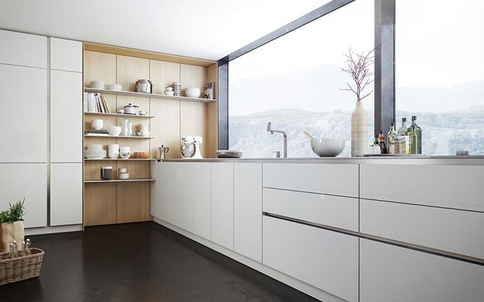 Conoces las cocinas antihuellas descubre sus ventajas for Cocinas modernas blancas