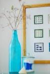 Decorando con envases de vidrio reusados
